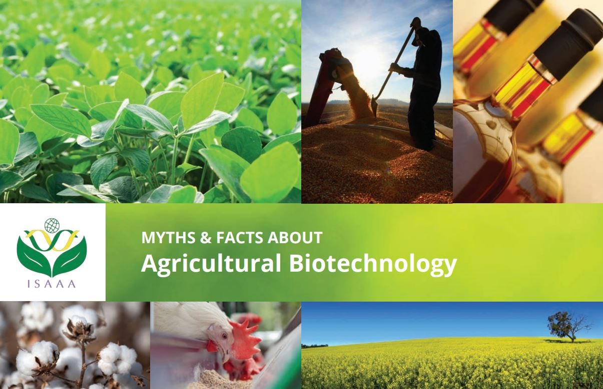 ISAAA Answers Top 10 Myths about Agricultural Biotechnology