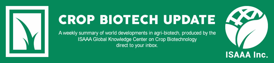 Crop Biotech Update