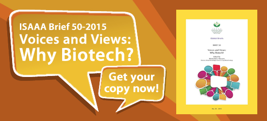 Voices and Views: Why Biotech?